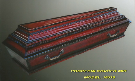 POGREBNI KOVČEG MIR - MODEL STANDARDNI: M035