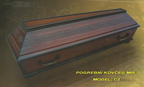 POGREBNI KOVČEG MIR - MODEL STANDARDNI C2