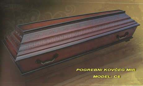POGREBNI KOVČEG MIR - MODEL STANDARDNI C5